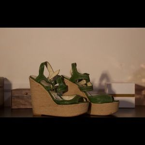 Vintage Nine West Wedges